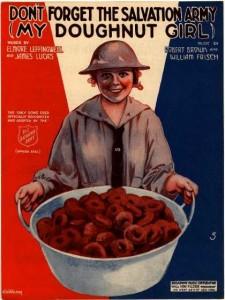 Salvation Army Doughnut Girl
