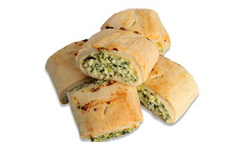 Mini Spinach & Cheese Roll 2