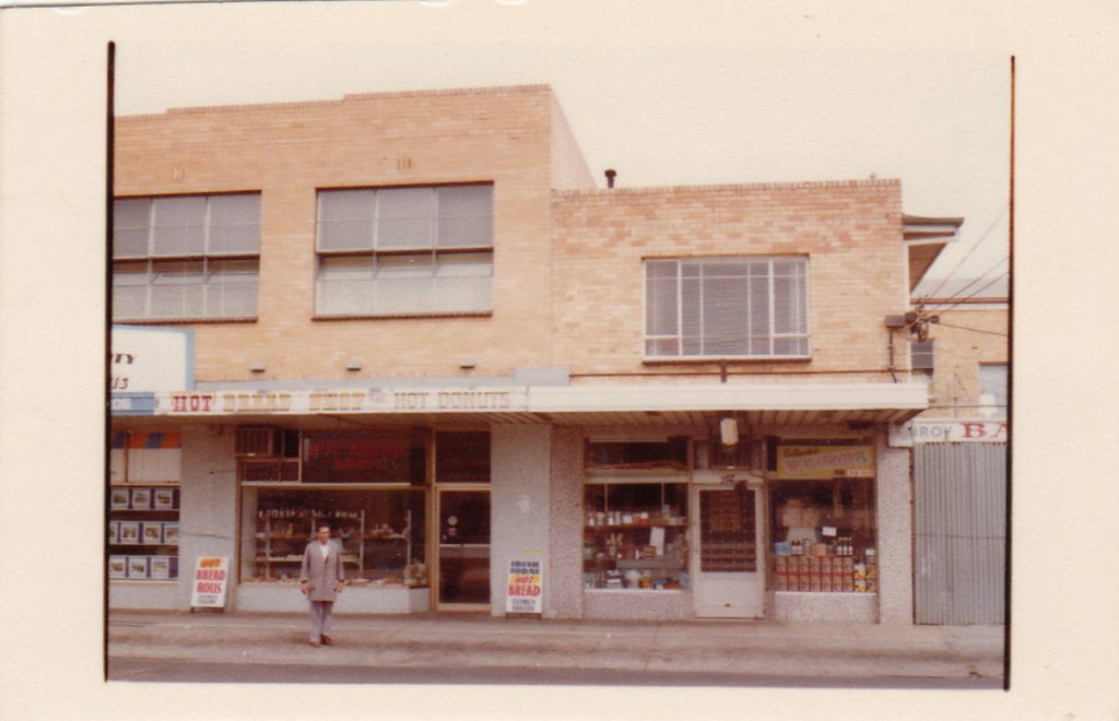 1970s Old shop on Glenroy Rd