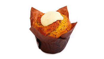 Wholesale Orange Poppy Muffins Melbourne | Glenroy Bakery