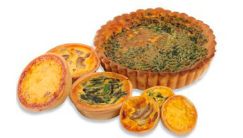Wholesale Quiches Melbourne | Glenroy Bakery