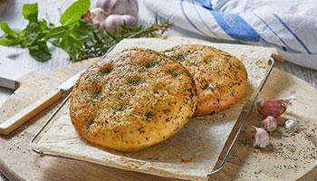 garlic-round-focaccia