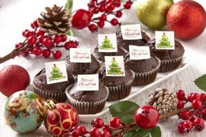 Christmas Cupcakes From Glenroy Bakery